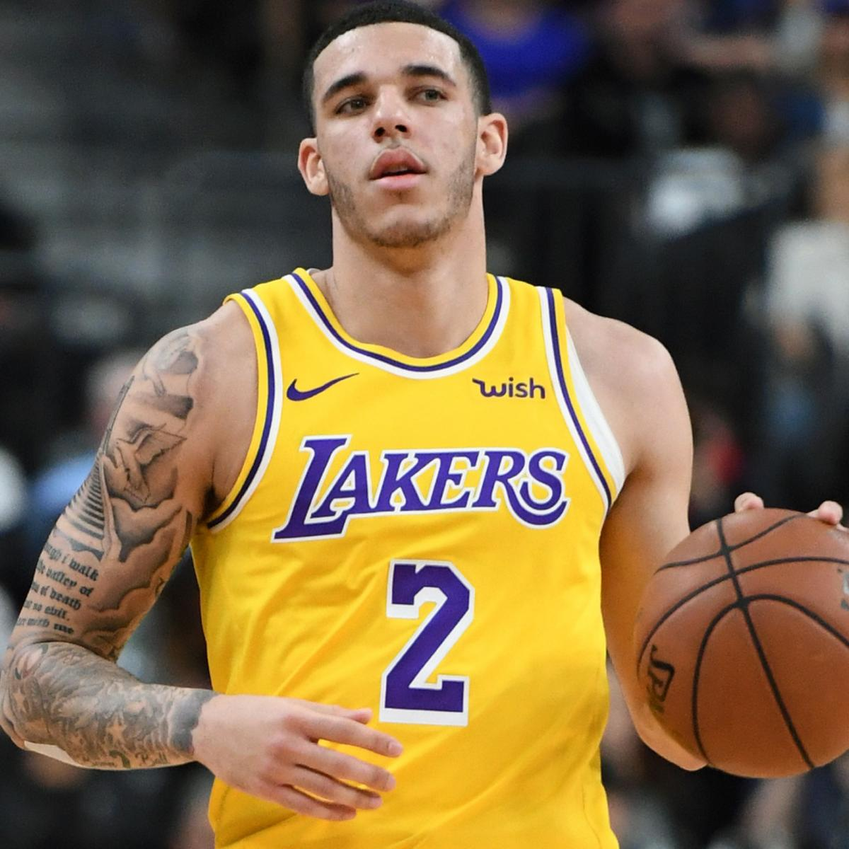 Lakers Rumors Lonzo Ball Forced By Nba To Cover Big Baller Brand Tattoo Bleacher Report Latest News Videos And Highlights