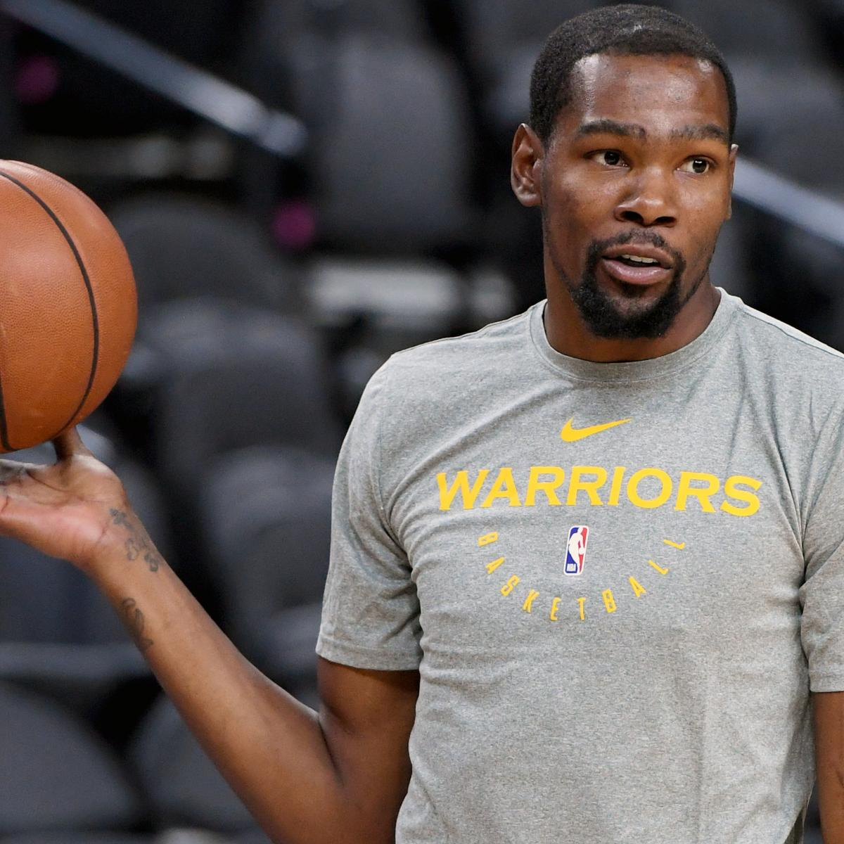 Warriors New Stadium Opening: Kevin Durant Believed To Want To Stay With Warriors Past