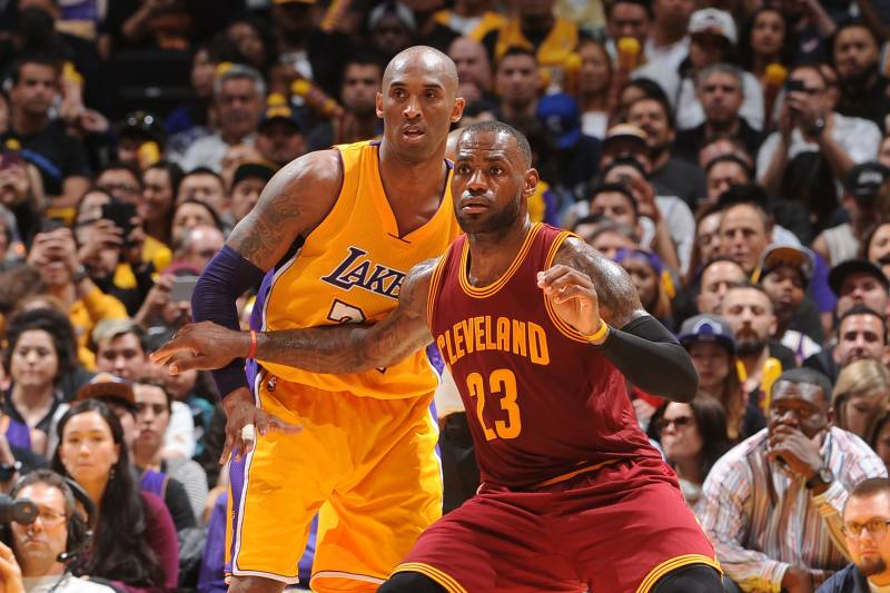 ffffe234272ffe Lakers News  Latest Buzz on Kobe Bryant s Role in LeBron James Pursuit and  More