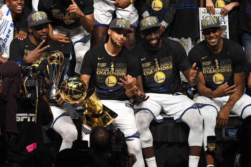 34e58cad0589 2019 NBA Championship Odds  Warriors Huge Favorites Ahead of Celtics ...