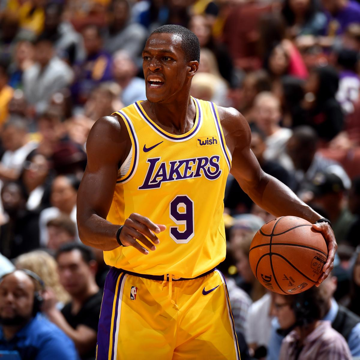 3939a9394 Rajon Rondo Wants to Become 1st Player to Win NBA Title with Lakers and  Celtics