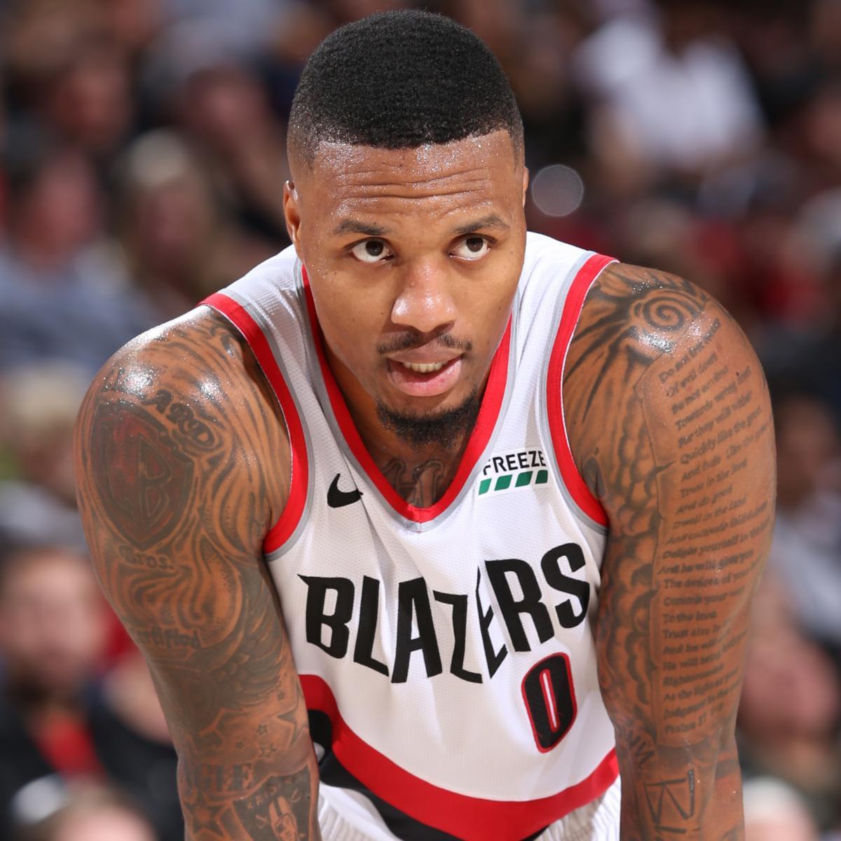 NBA Rumors: LeBron James 'Respects' Damian Lillard's Game