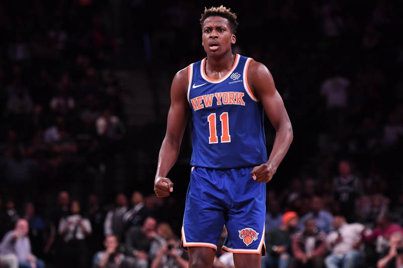 Knicks News Frank Ntilikina To Start Over Rookie Kevin Knox