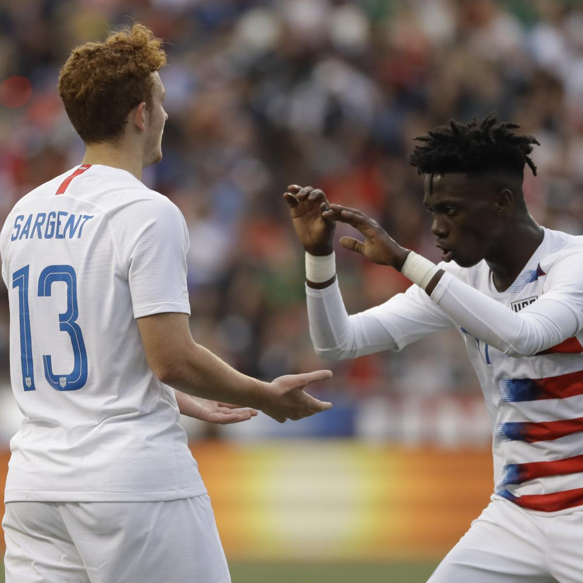 Peru Draws Josh Sargent, USA with Late Equalizer