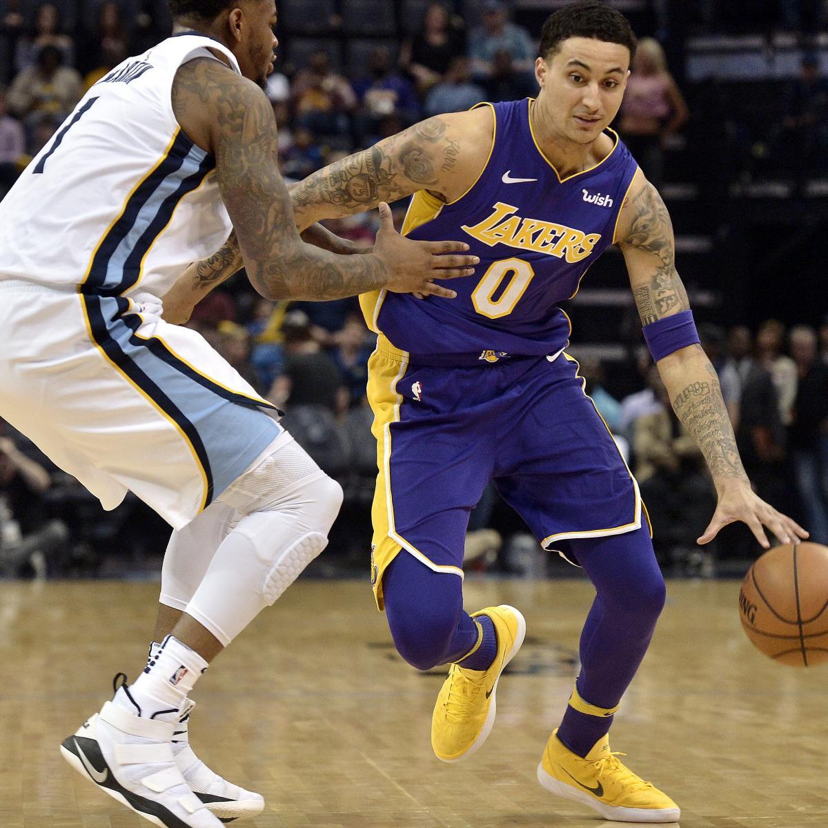 42df4a39b945b Lakers News  Kyle Kuzma Announced by GOAT as NBA Brand Ambassador ...