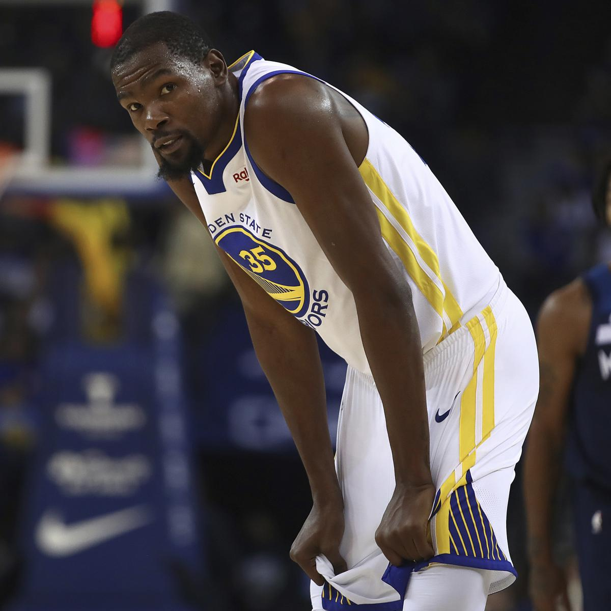 Warriors Come Out To Play Bleacher Report: Kevin Durant Rumors: Lakers, Knicks, Clippers To Target