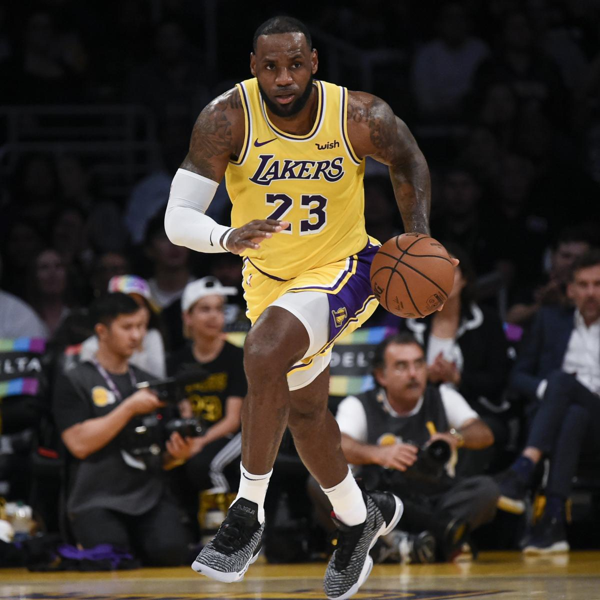 Blazers Vs Lakers: NBA Odds: LeBron James, Lakers Made Underdogs For Opener