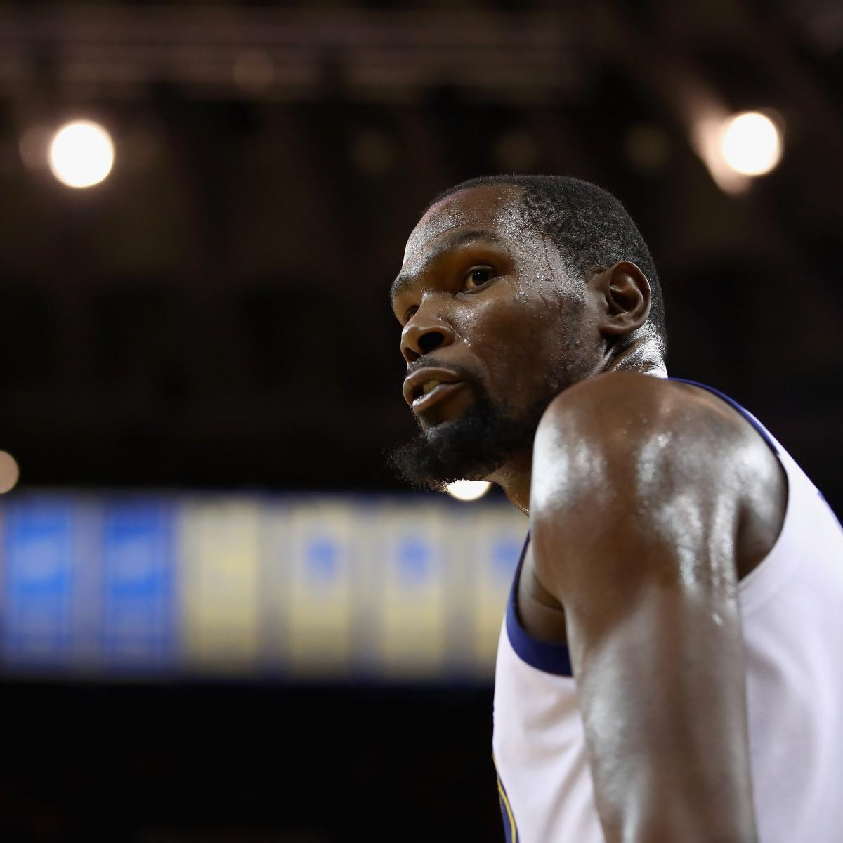 Kevin Durant on Upcoming Free Agency: I Just Want People to Focus on Basketball