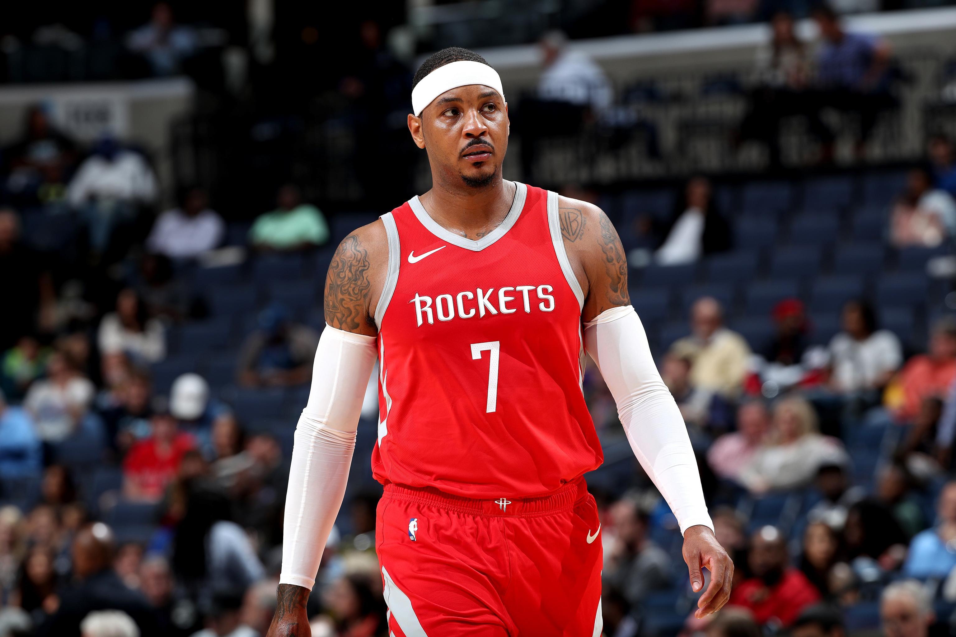 Resultado de imagen para Carmelo Anthony, Houston Rockets (2018)