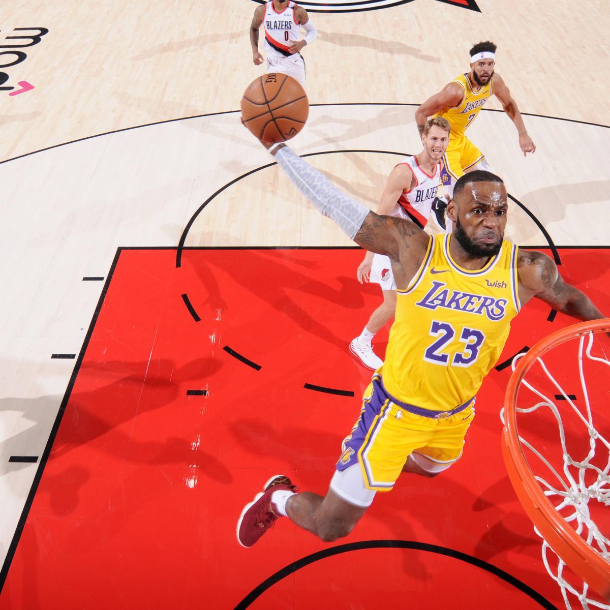 Lakers Lose LeBron James' Debut 128-119 To Damian Lillard