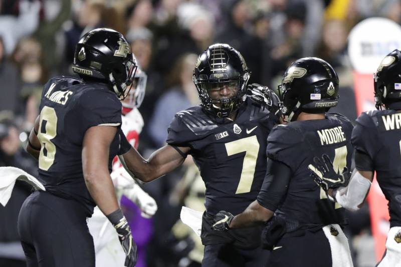 8225c7c6d4 Inspired Purdue Delivers Feel-Good Story of CFB Season with Massive OSU  Upset