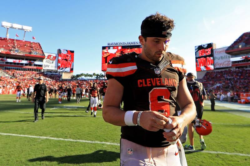 ff3c0501e Browns  Own Mistakes Spoiling Baker Mayfield s Rookie Season ...