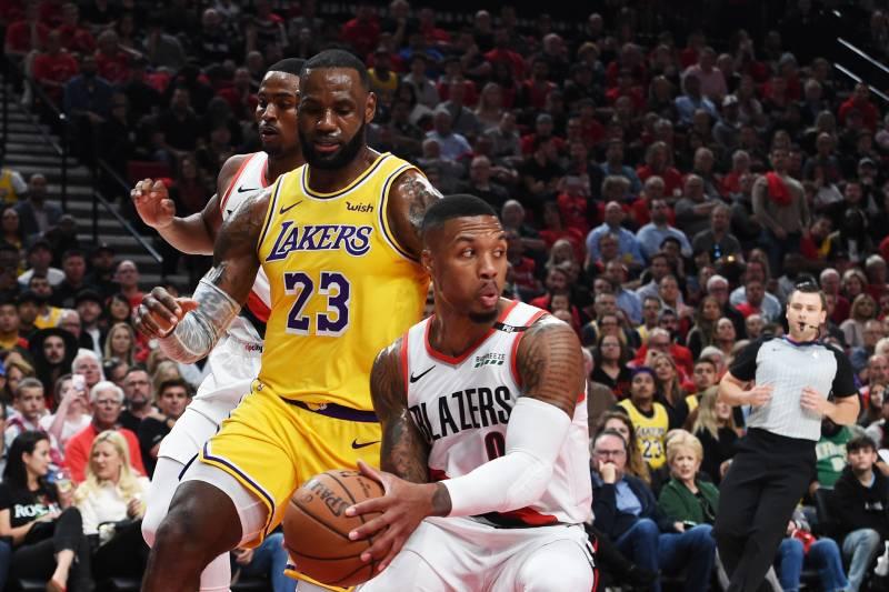 a78a2b708 Lakers Rumors  Buzz on Damian Lillard Trade and Offseason Signings ...