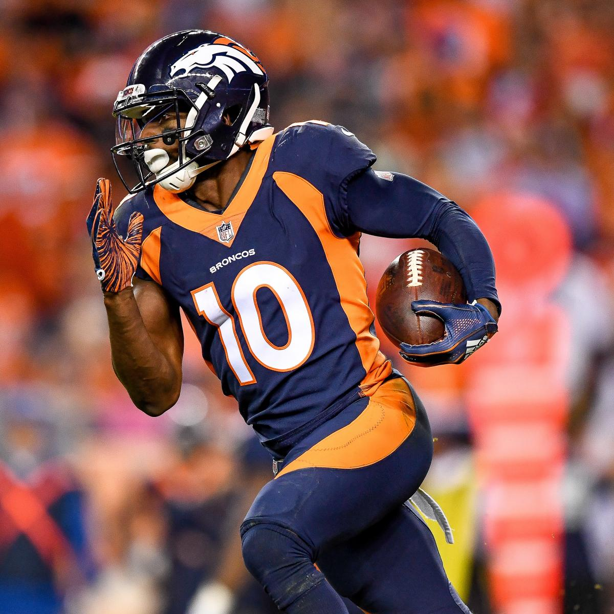 Broncos Rumors: Emmanuel Sanders' Contract Option Picked