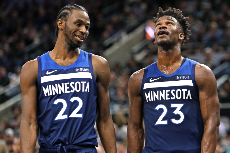 ca1241daa1a Andrew Wiggins on Jimmy Butler   We ve Always Been Cool  Despite Controversy
