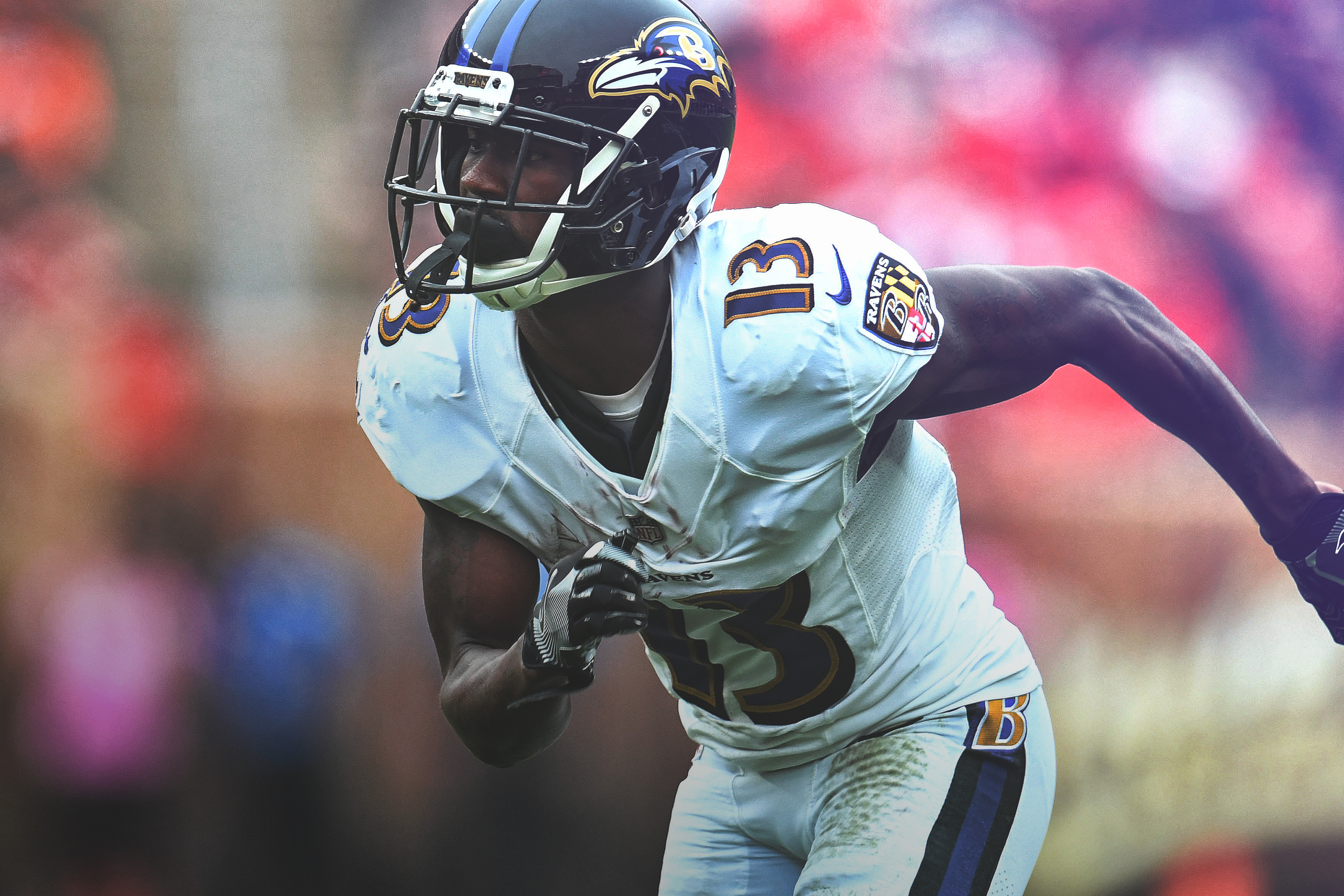 295a1075 Smoke' Rising: How John Brown Went from Cardinals Bust to Ravens ...