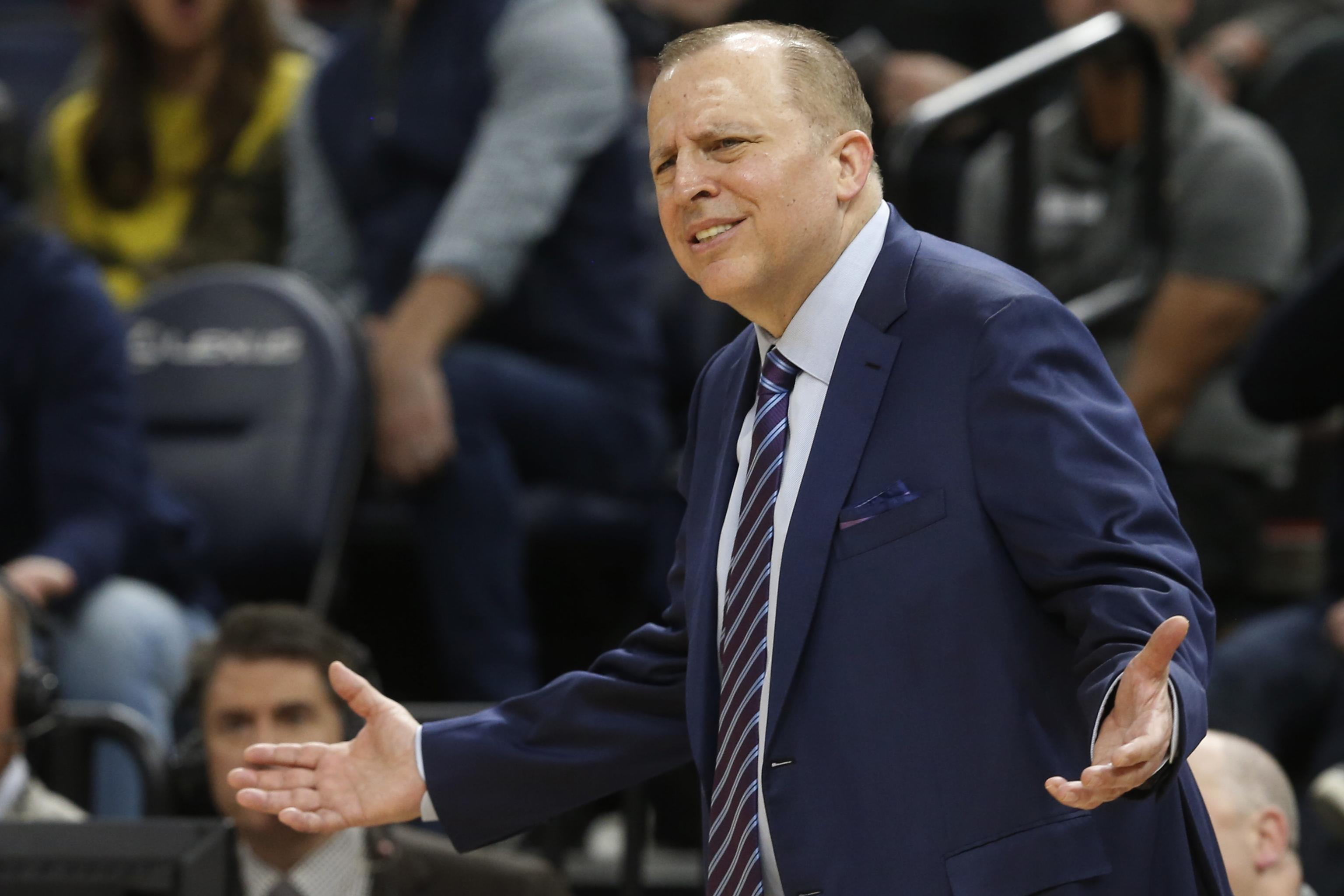 Tom Thibodeau Fired As Timberwolves Head Coach After Win Vs
