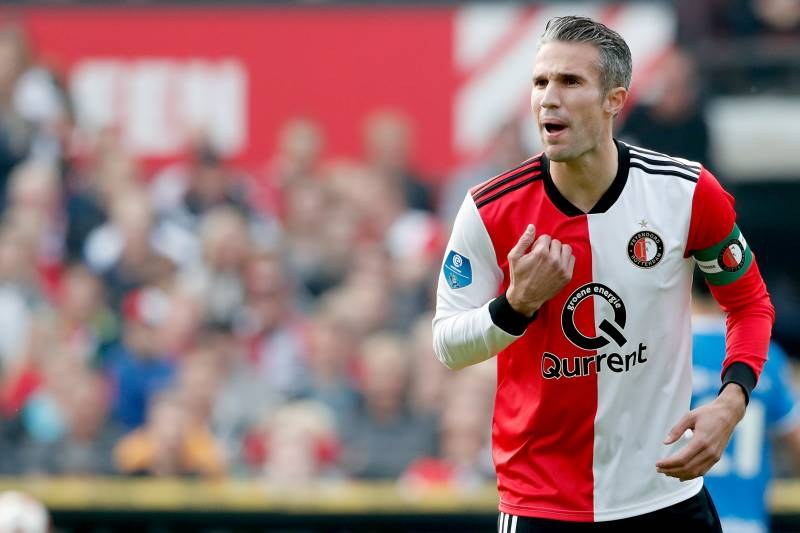 competitive price e8b7d 195e6 Robin van Persie Reveals Plan to Retire at the End of the ...