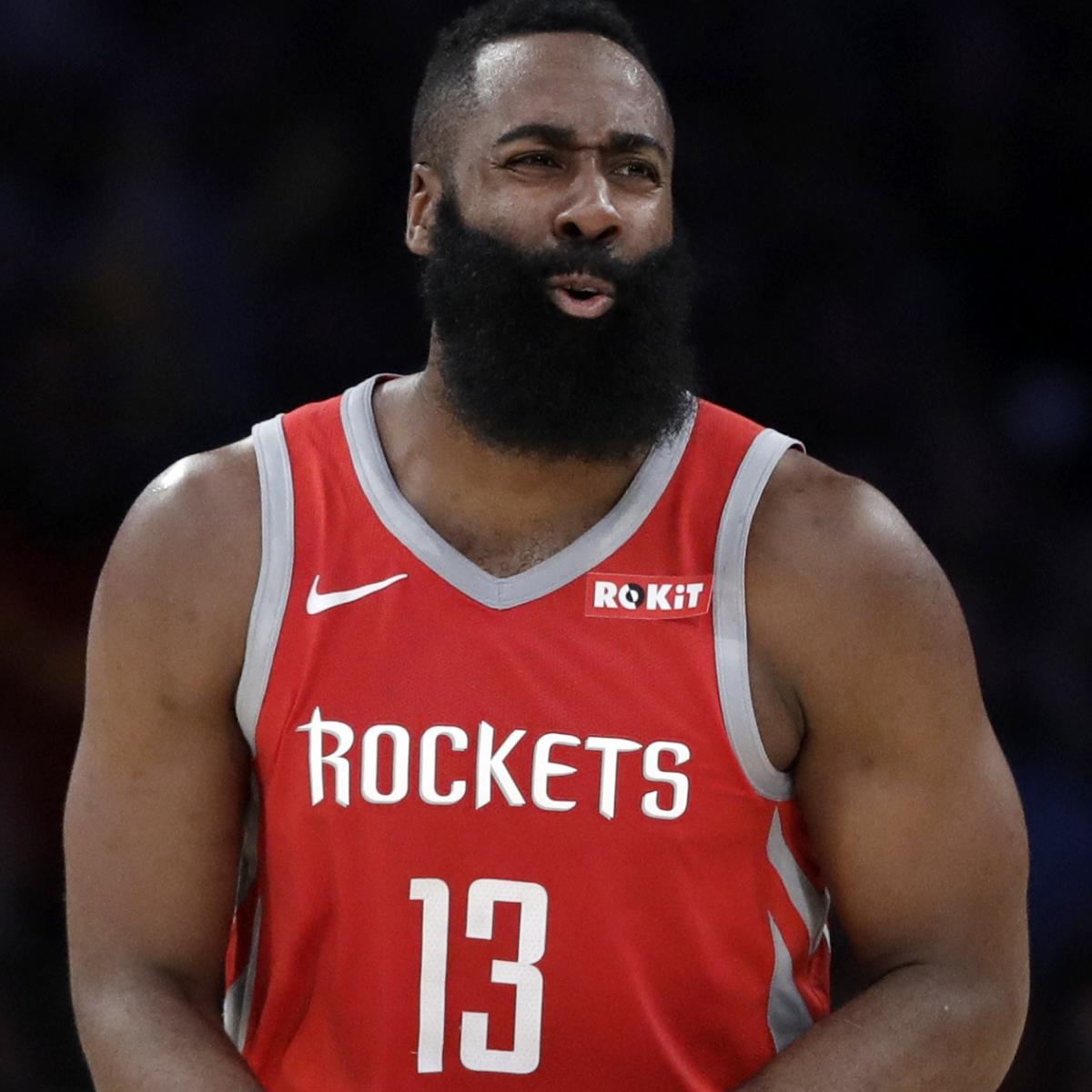 James Harden Latest News: James Harden Exits Early Vs. Jazz With Hamstring Injury