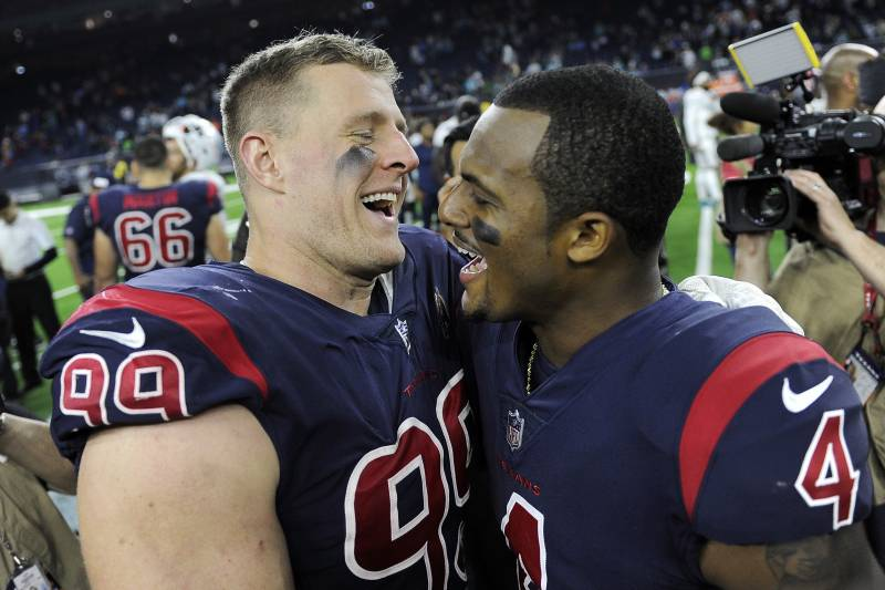 Deshaun Watson J J Watt Are Back And So Are The Texans