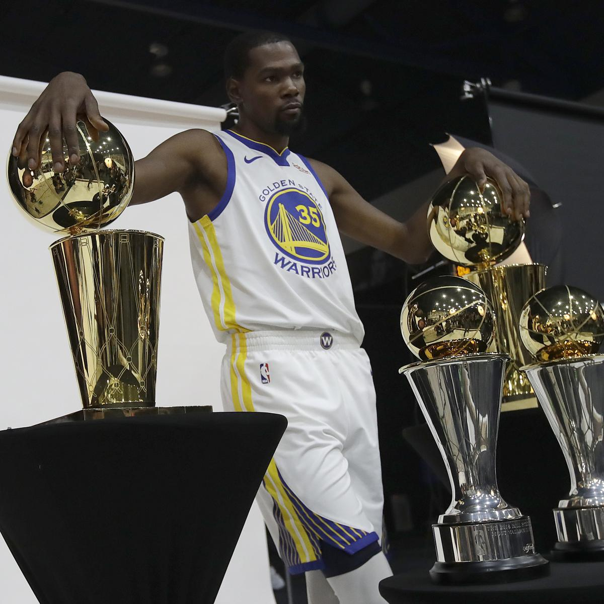 Kevin Durant Is Already Warriors Biggest Difference Maker: Kevin Durant Only Thinking About Money He's Going To Get