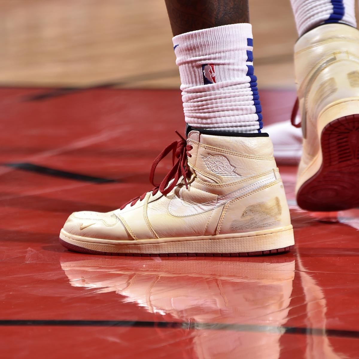 4b2c5ec47 B R Kicks X NBA Nightly  Montrezl Wears Nigel AJ1