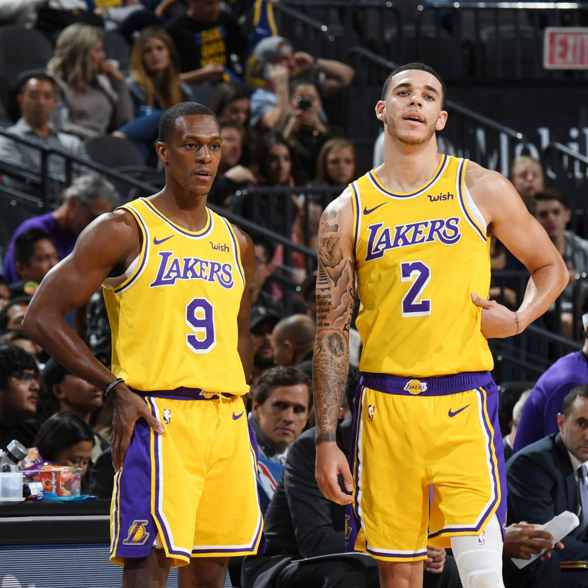Lakers News: Lonzo Ball Will Start After Rajon Rondo ...Lakers News
