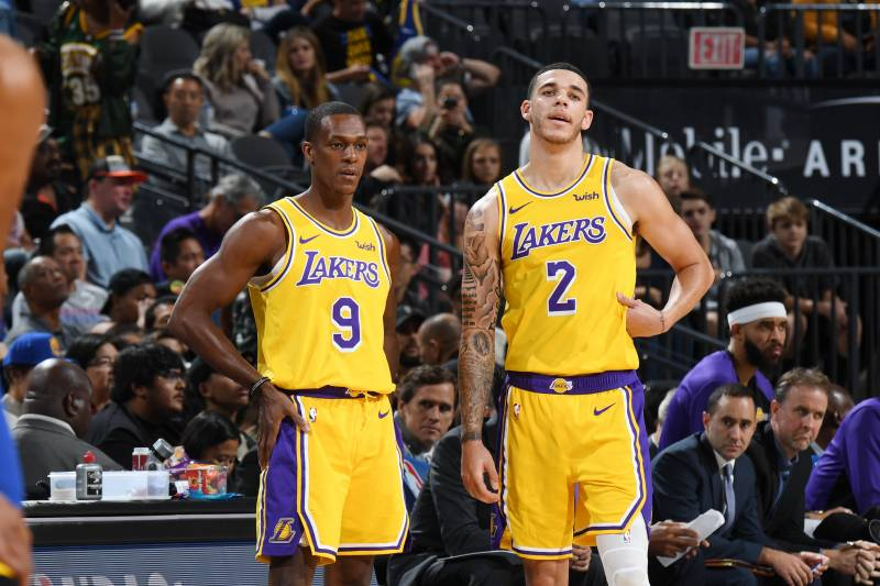 0c1a4c1b470 Lakers News  Lonzo Ball Will Start After Rajon Rondo Returns from Suspension