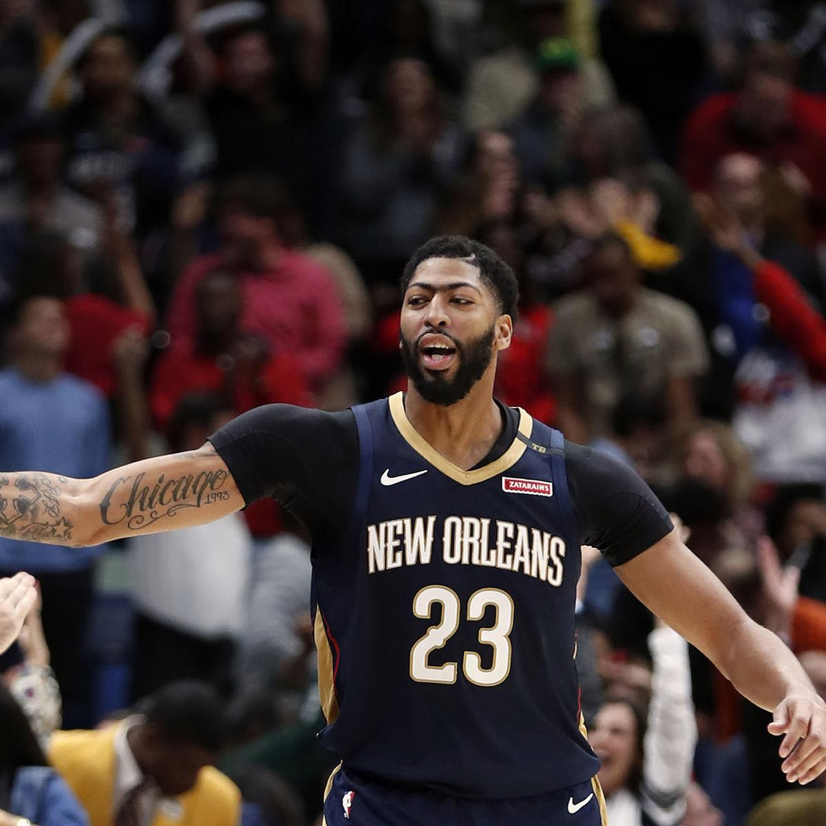 Anthony Davis Will Not Play Vs. Nuggets Because Of Elbow