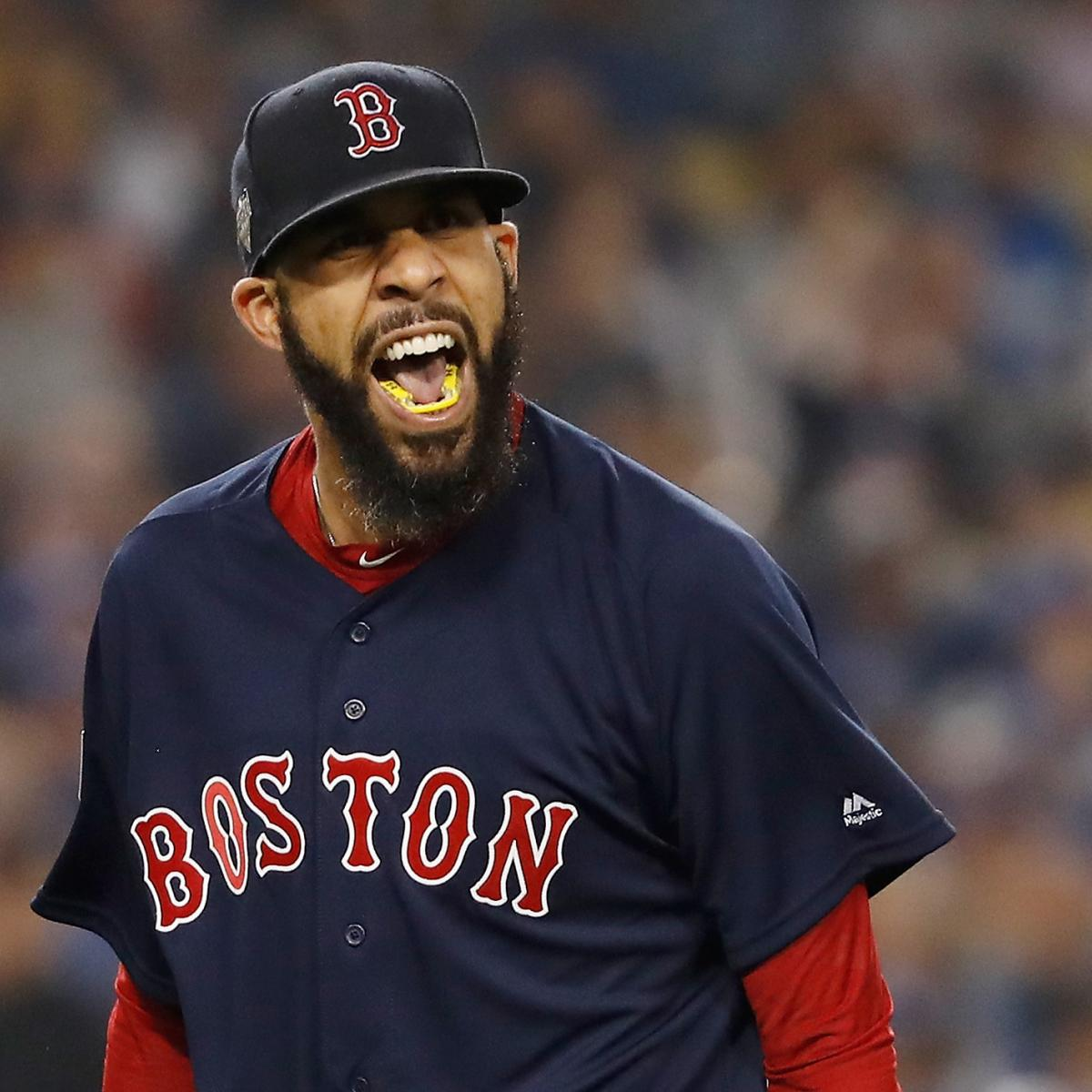 Red Sox Beat Dodgers to Win 9th World Series Title Behind Dominant David Price
