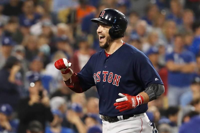 half off 3d22f c59c0 Red Sox's Steve Pearce Wins 2018 World Series MVP Award ...