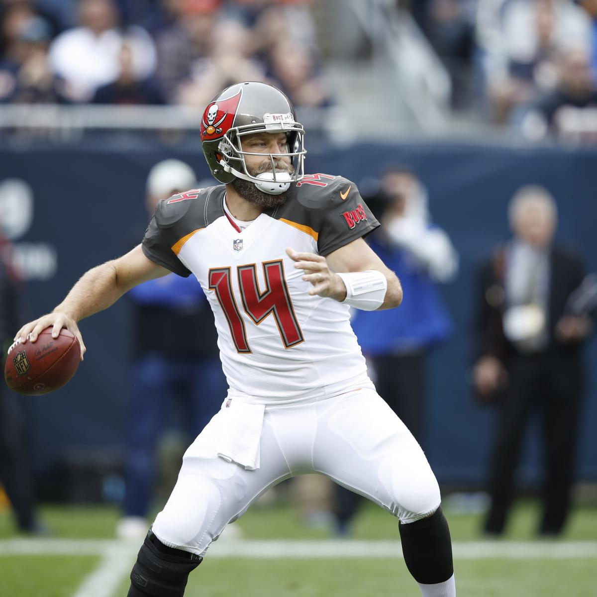 c2da11a2aaa Ryan Fitzpatrick's Fantasy Outlook After Being Named Starter over Jameis  Winston