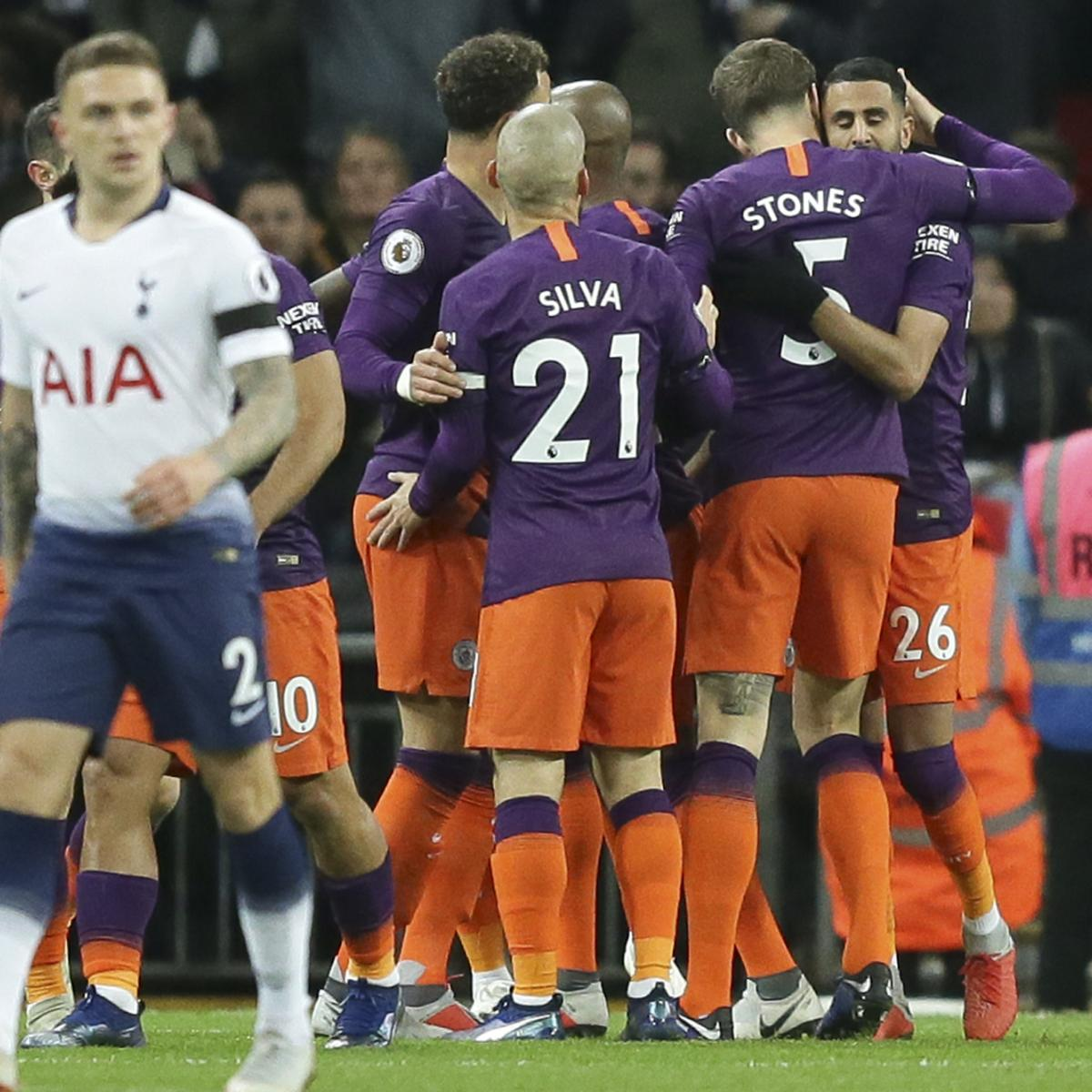 Who Will Lead The Attack For Tottenham In The Absence Of: Riyad Mahrez Goal Lifts Manchester City Past Tottenham 1-0