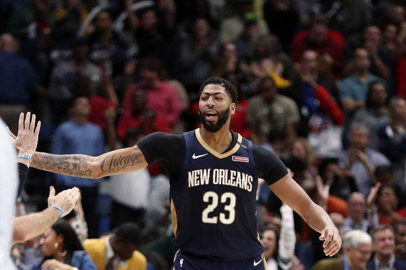 9ab1403da08c NBA Rumors  Latest Buzz on Possible Anthony Davis Trade and Cavaliers