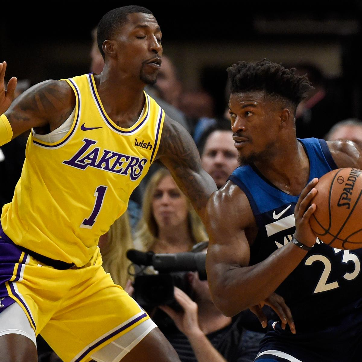 37b9aee2640e Jimmy Butler Drops 32 as Timberwolves Beat LeBron James