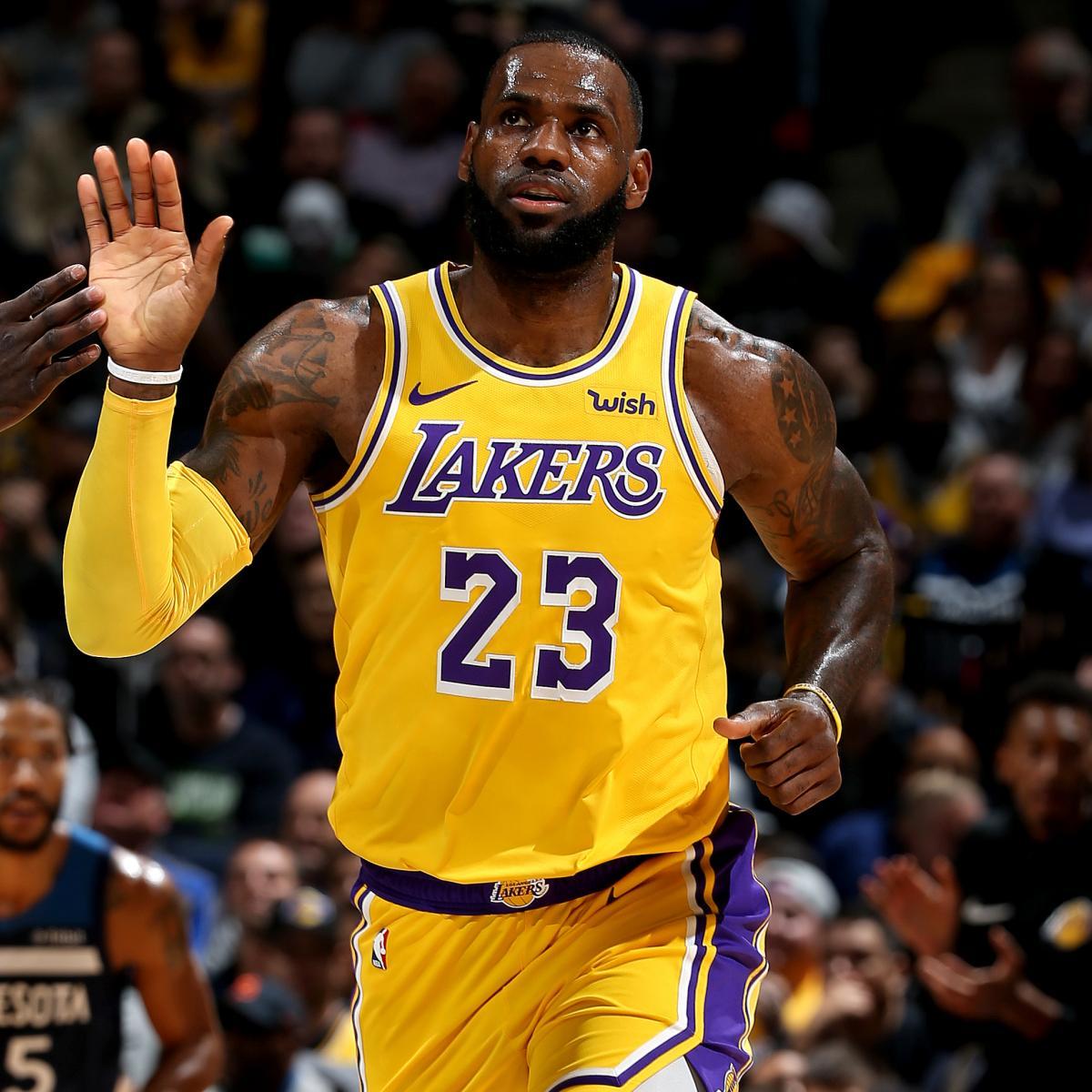 LeBron James Passes Wilt Chamberlain For 5th On NBA All