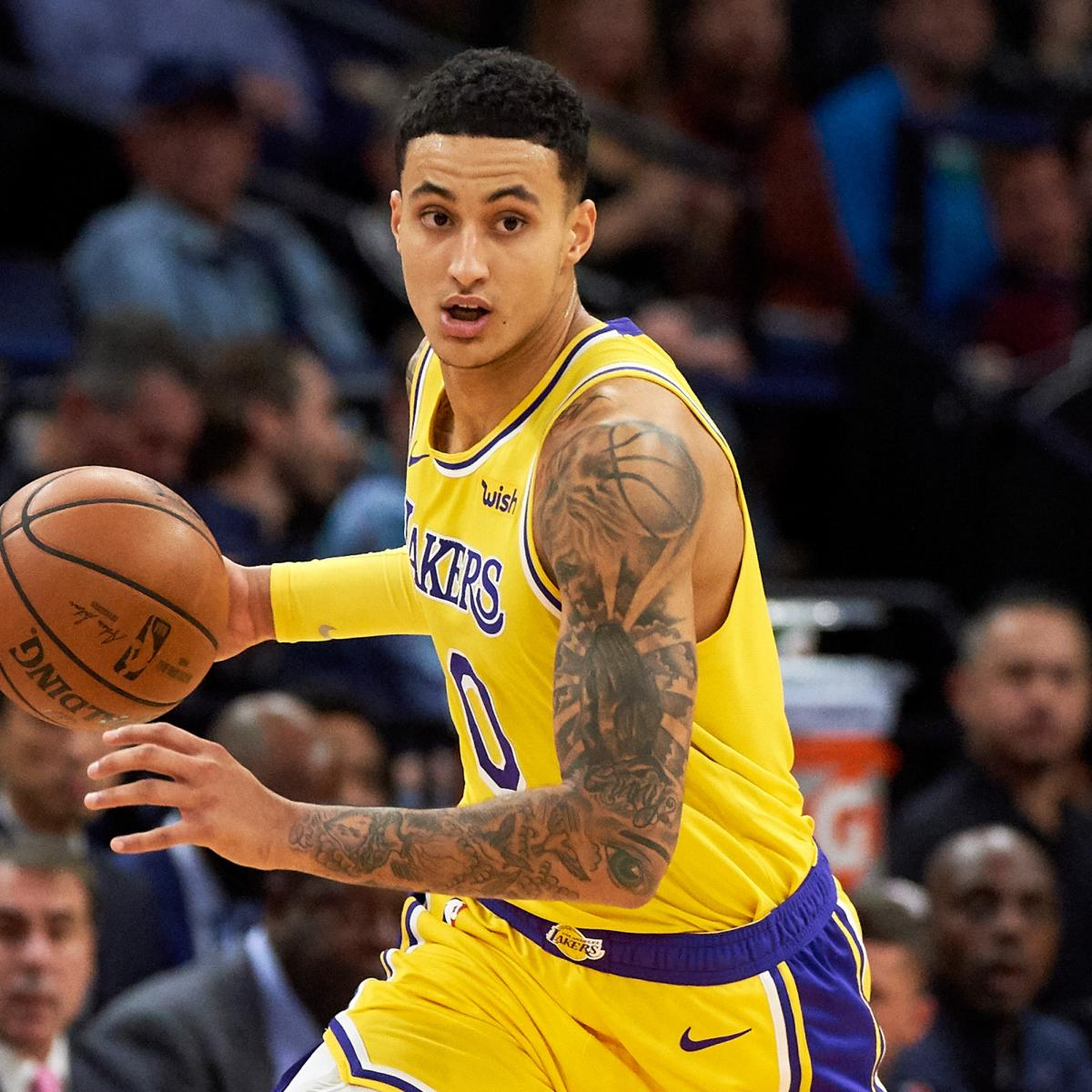 70c6c0dd921 Lakers News: Kyle Kuzma Says He Feels Like 'A Starter in This League' |  Bleacher Report | Latest News, Videos and Highlights