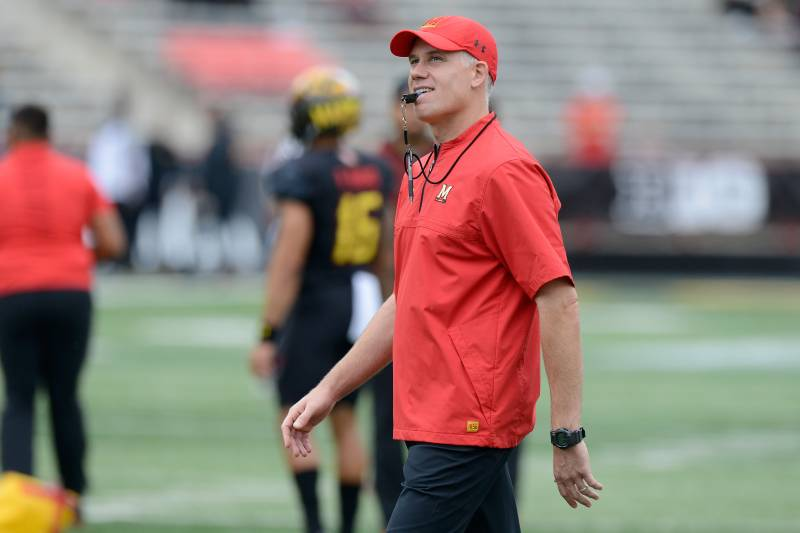 b99f2286f2498 DJ Durkin Reinstated as Maryland Football Coach After Review of ...