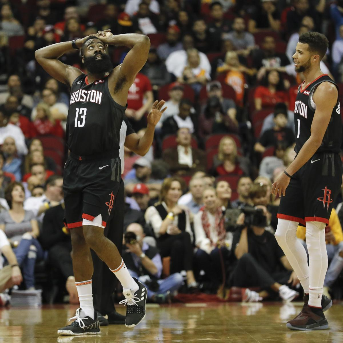 Houston Rockets Record 2018: 'When It Goes Bad, It Goes Bad:' How Doomed Are The