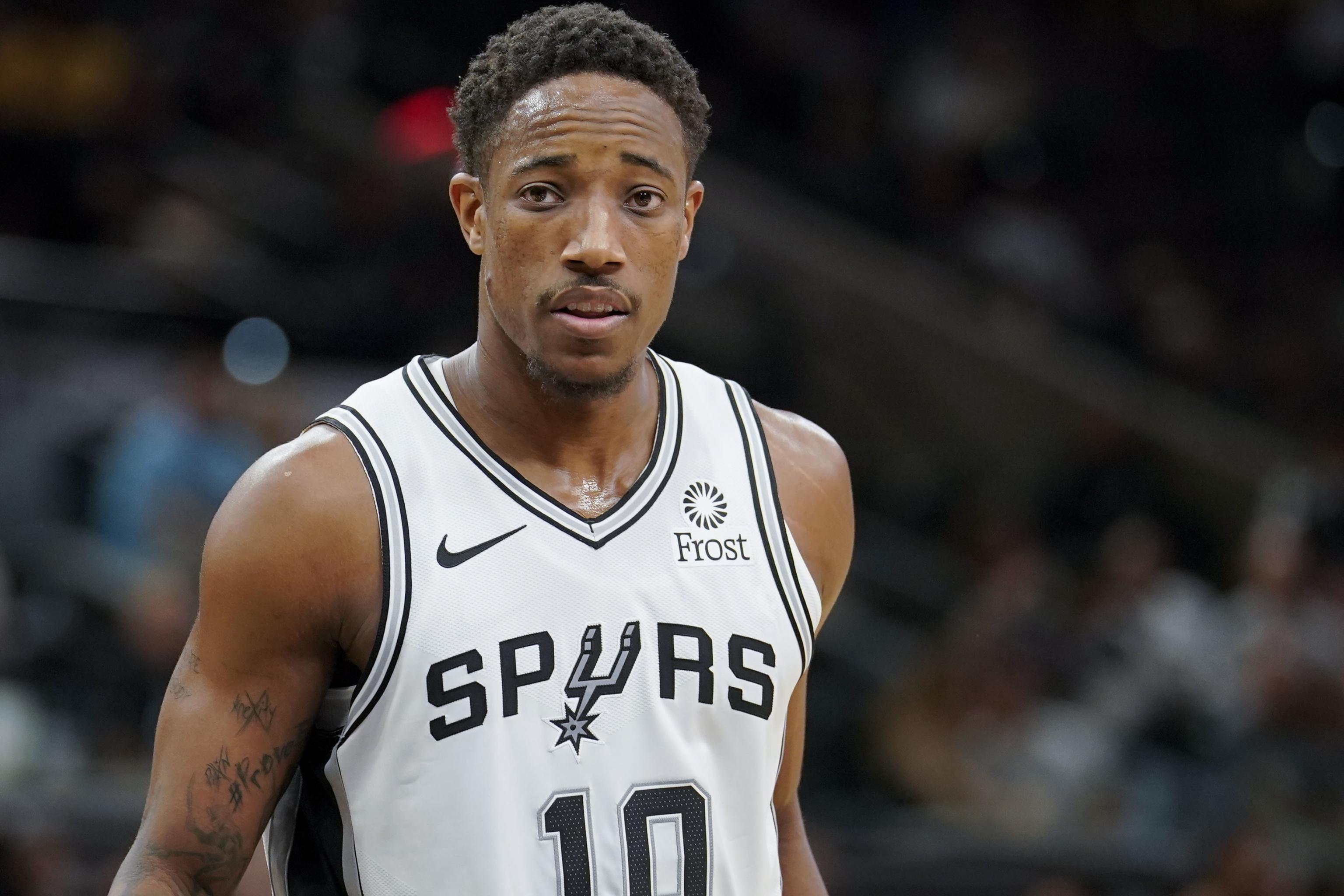 new styles 2b1f8 0983b DeMar DeRozan Was 'Extremely Hurt' After Being Traded to ...