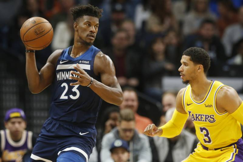 Jimmy Butler Not On Injury Report For T Wolves Vs Warriors Amid