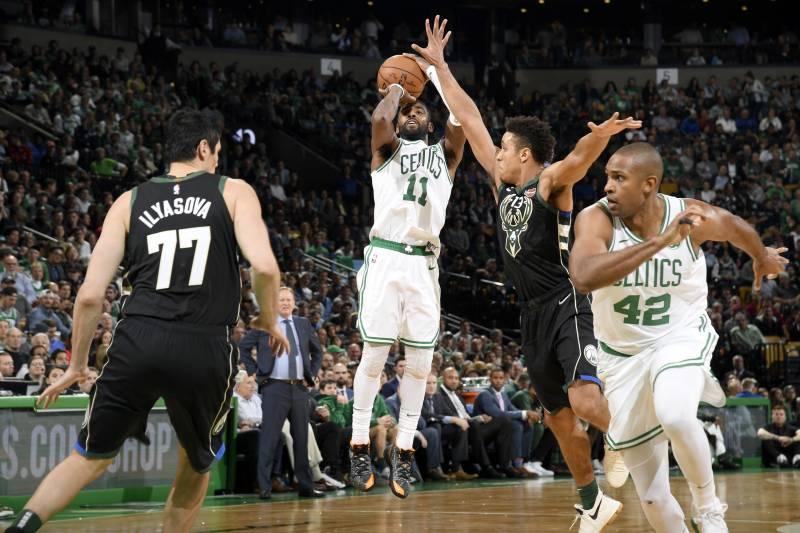 d652f708ae74 Celtics Displaying Championship Defense