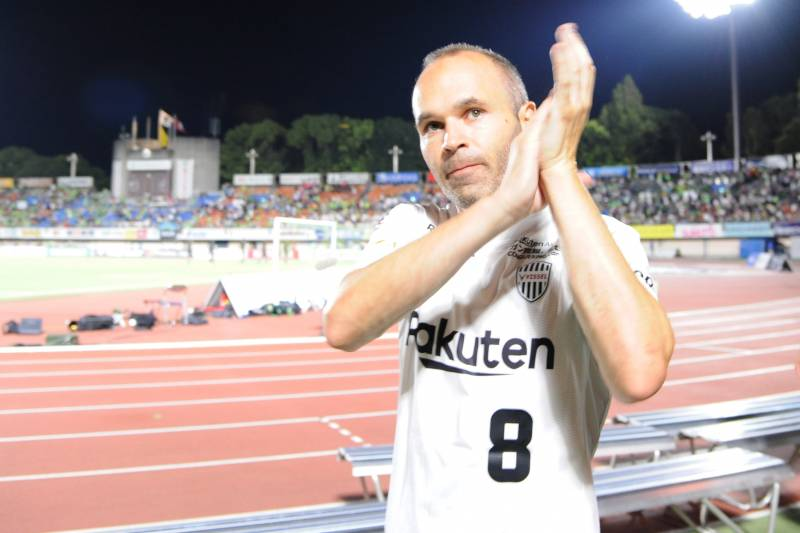 c9e834498 From Kobe Beef to Fighting the Drop  Andres Iniesta Embraces New Life in  Japan