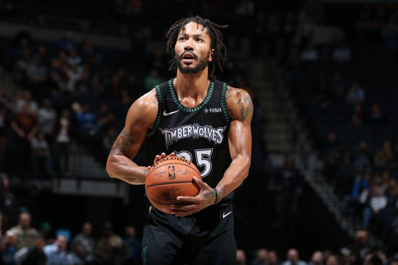 3c7e615cd Derrick Rose s Ankle Injury Diagnosed as Sprain