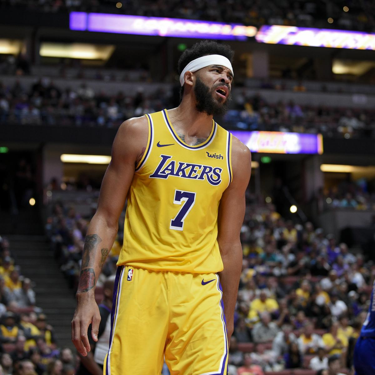 91b164e9e13a Lakers Rumors  JaVale McGee Released from Hospital After Bout with Pneumonia