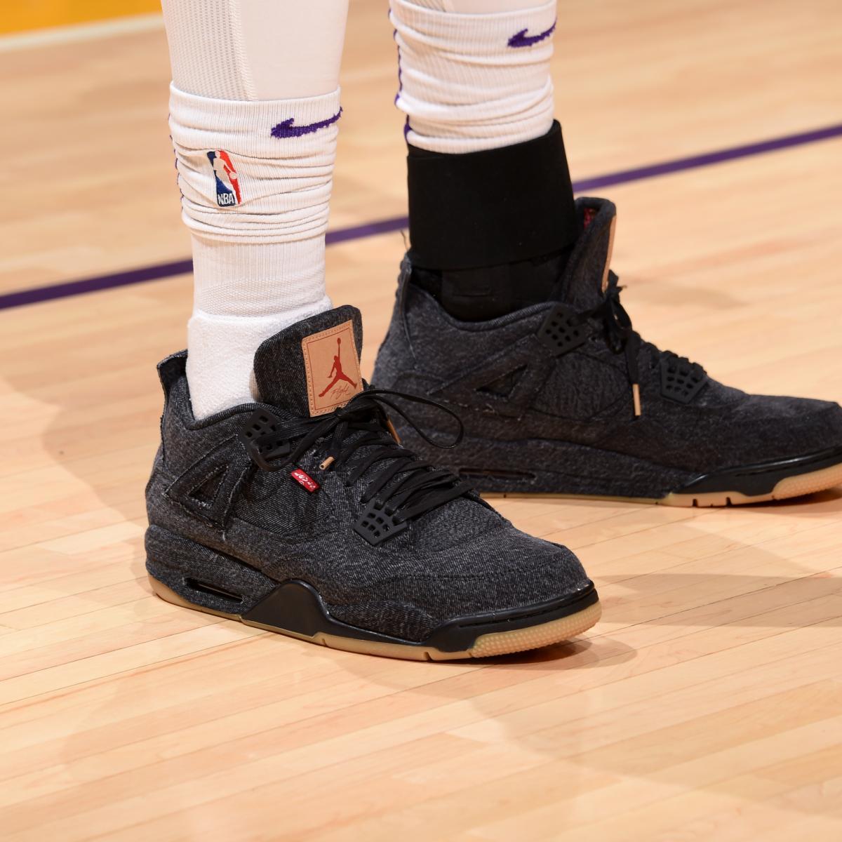 c5d7a934ee2803 B R Kicks x NBA Nightly  Hart Wears Nike Air Fear of God 1 ...