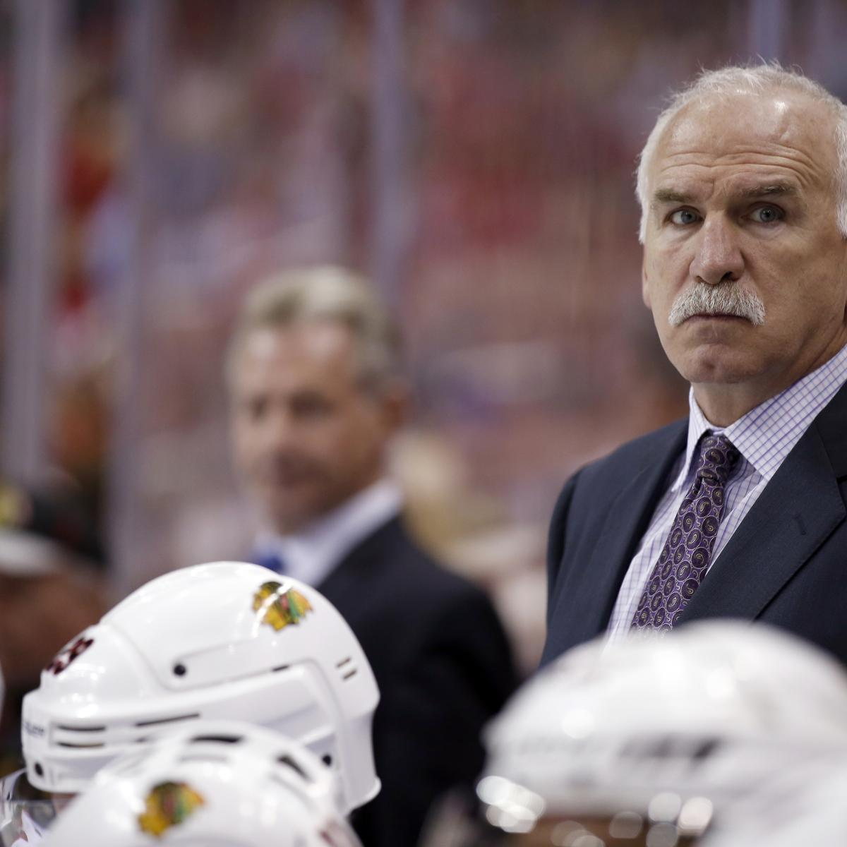 Blackhawks Fire Joel Quenneville, Name Jeremy Colliton New Head Coach