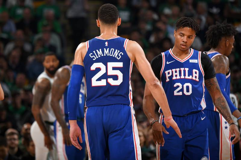 low priced 51629 4b6b9 Brett Brown: Ben Simmons, Markelle Fultz Need to Improve ...