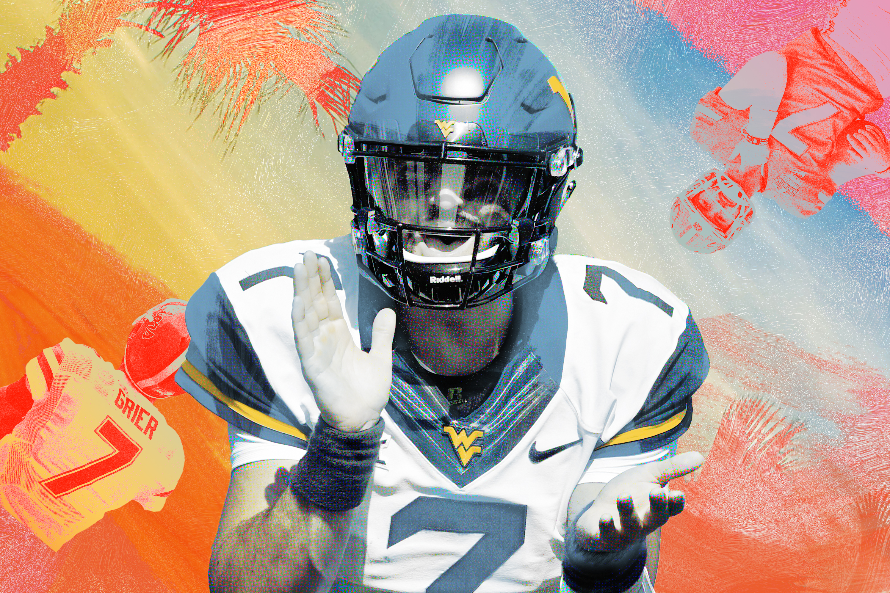 the latest f9dd6 74e32 West Virginia's Will Grier and the Decision That Transformed ...