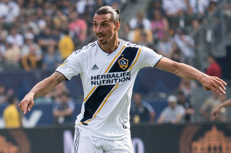 low priced 380bf f52e5 Zlatan Ibrahimovic Focused on LA Galaxy but Says European ...